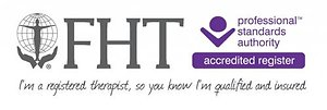 Sports Massage. FHT accredited logo